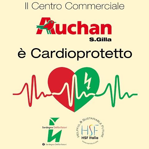 Auchan S.Gilla (Sardegna Defibrillatori)